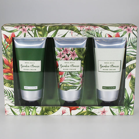 'Garden Breeze' Hand Cream 3-Pack