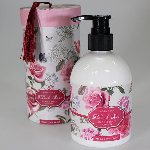 'French Rose' Hand & Body Lotion Pump