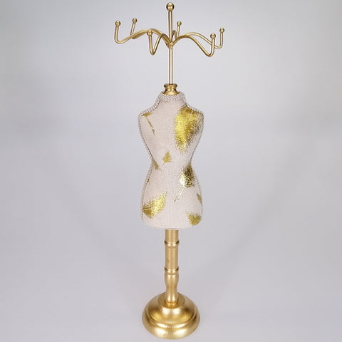 Jewellery Holder - Body Form with Feather Motif