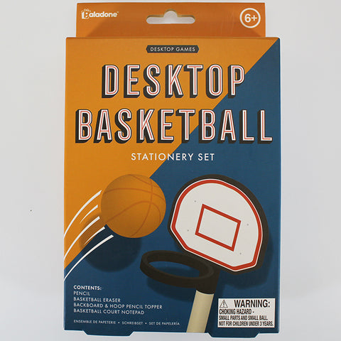 Desktop Basketball Stationery Set
