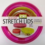 Silicone Stretch Lids - Set of 3