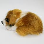 Fluffy Sleeping Dog Ornament