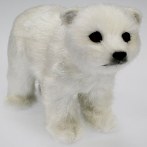 Large Fluffy Polar Bear Ornament