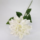 Artificial Flowers - Dahlia Stem - Cream