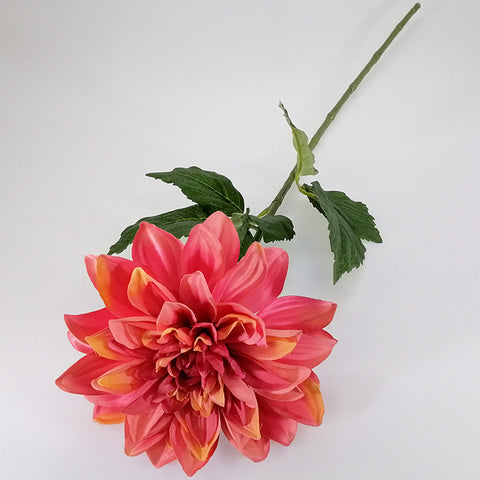 Artificial Flowers - Dahlia Stem - Shades of Pink