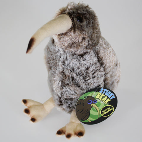 Speckled Kiwi Soft Toy with Kiwi Sound
