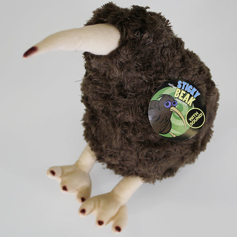 Large Kiwi Soft Toy with Kiwi Sound