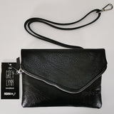 """Grey Lynn"" Clutch Bag - Black"
