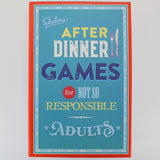 Fabulous After Dinner Games - Box
