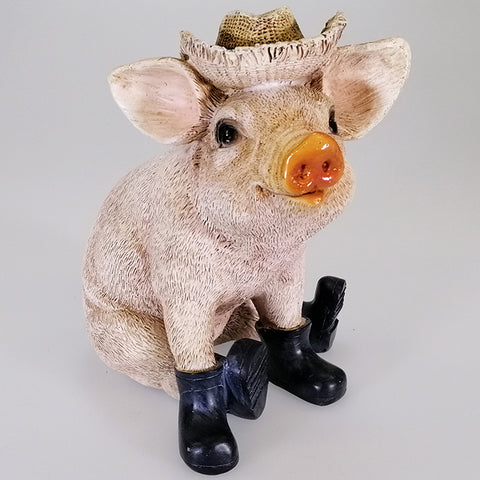 Pig in Hat with Gumboots