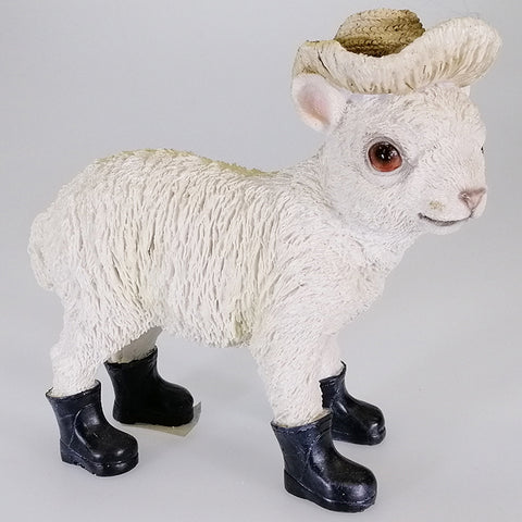 Sheep in Hat with Gumboots
