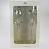 """The Better Half"" & ""The Other Half"" Wine Flutes - Set of 2"
