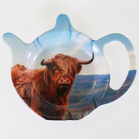 Highland Cow - Teabag Tidy