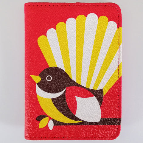 "Passport Holder - ""Iconic Fantail"""