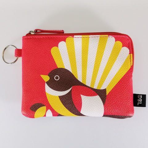 "Coin Purse - ""Iconic Fantail"""