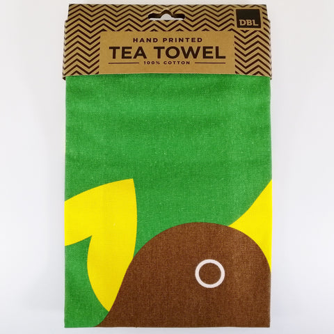 "Tea Towel - ""Iconic Kiwi"""