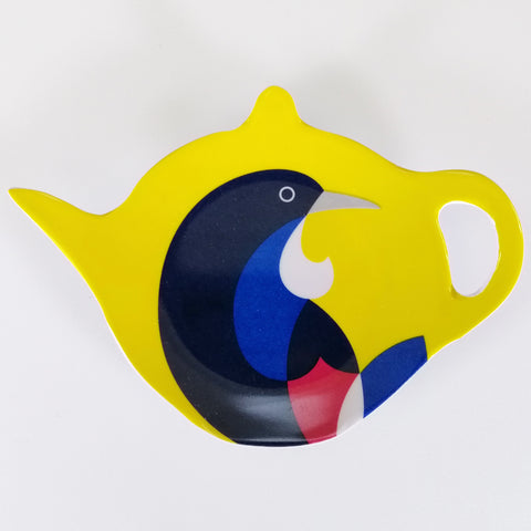 "Tea Bag Holder - ""Iconic Tui"""