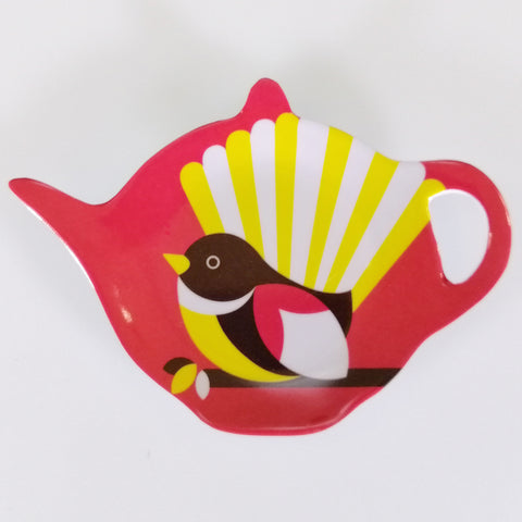 "Tea Bag Holder - ""Iconic Fantail"""
