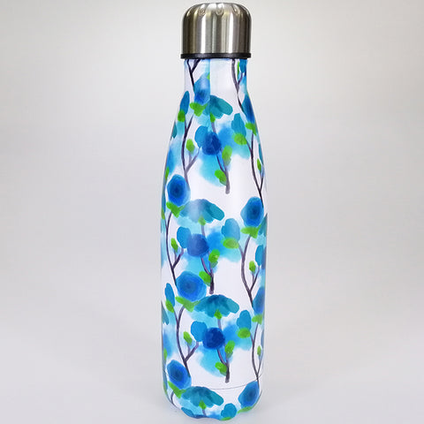 Stainless Steel Drink Bottle - Japanese Tree - 500ml