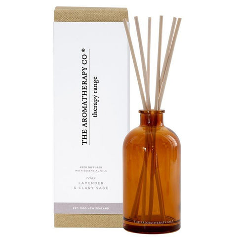 The Aromatherapy Company - Therapy Range 'Relax' - Diffuser - Lavender & Clary Sage