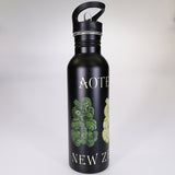 Stainless Steel Drink Bottle with Sipper Top - Tikis