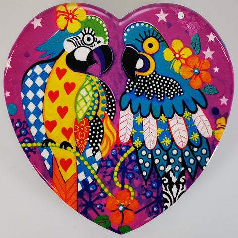 "Maxwell & Williams - Love Hearts ""Araras"" - Coaster"