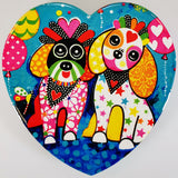 "Maxwell & Williams - Love Hearts ""Ooodles of Love"" - Coaster"