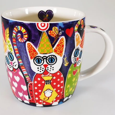 "Maxwell & Williams - Love Hearts ""Cup Cakes Cats"" - Mug"