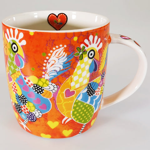 "Maxwell & Williams - Love Hearts ""Chicken Dance"" - Mug"