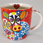 "Maxwell & Williams - Love Hearts ""Happy Moo Day"" - Mug"