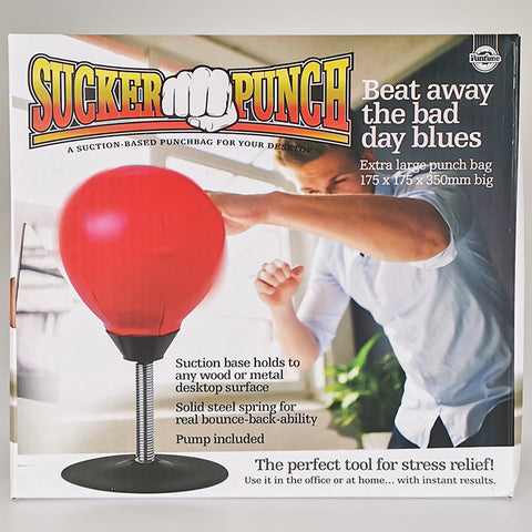 Sucker Punch Desk-top Punching Bag