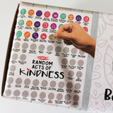 100 Random Acts of Kindness - Scratch Poster