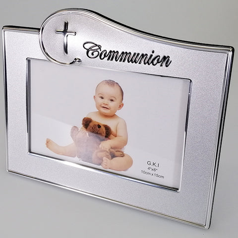 "Alloy, Embossed Photo Frame - ""Communion"""