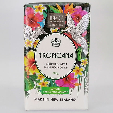 Banks & Co. - Luxury Triple Milled Soap - Tropicana