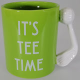 "Golf Mug ""It's Tee Time"" - Boxed Mug"