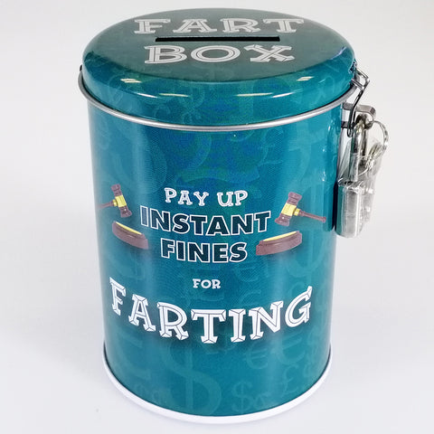 Fine Tin - Farting - with Lock