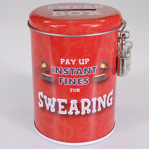 Fine Tin - Swearing - with Lock