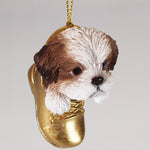 Hanging Ornament - Shih Tzu in Boot