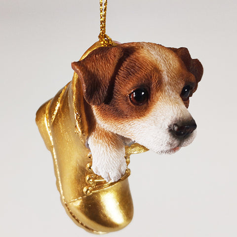 Hanging Ornament - Jack Russel in Boot