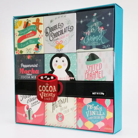 The Cocoa Festive Variety Set - 9 Pack