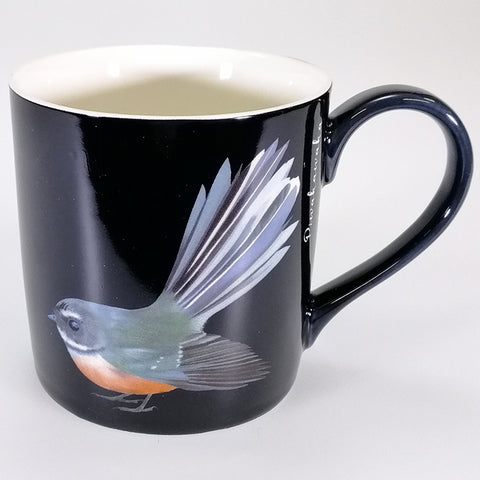 "Bone China Mug - ""Piwakawaka"""