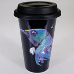 "Bone China Travel Mug - ""Tui"""
