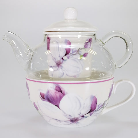"""Magnolia"" - Tea For One Set"