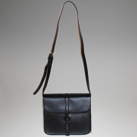 Moana Road - 'Richmond' Satchel Bag - Black