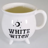 'White Witch' - Cauldron Coffee or Tea Mug