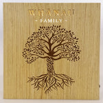 LED Kiwiana Block - 'Tree Whānau - Family'