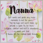 LED Sentimental Plaque - 'Nanna'