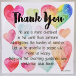 LED Sentimental Plaque - 'Thank You'