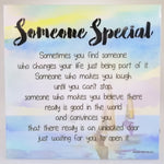 LED Sentimental Plaque - 'Someone Special'
