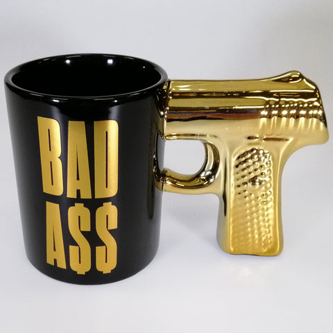 """Bad Ass"" - Boxed Mug"